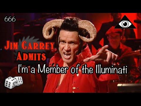 Jim Carrey (déguisé en Diable) admet être un membre des Illuminati !! Tout est dit !
