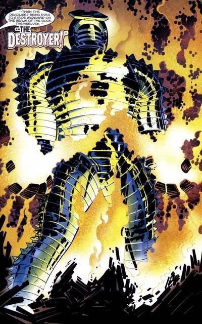 The Mighty Thor 1 (1998), cover et dessins de: John Romita Jr