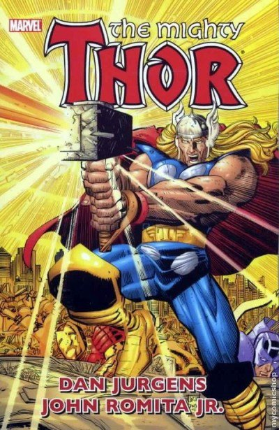 The Mighty Thor 1 (1998), cover et dessins de: John Romita Jr