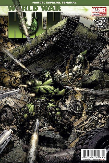 World War Hulk (2006-2007), dessins par: John Romita Jr