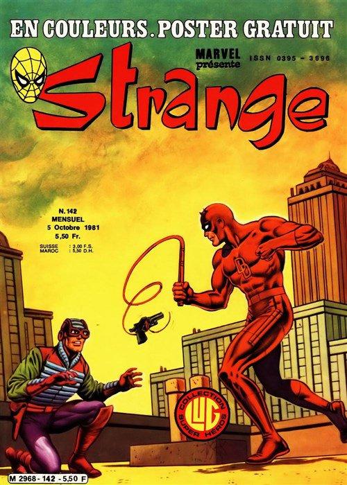 Strange 142 (1981), cover par: Jean Frisano