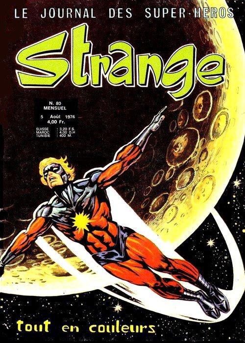 Strange 80 (1976), cover par: Jean Frisano