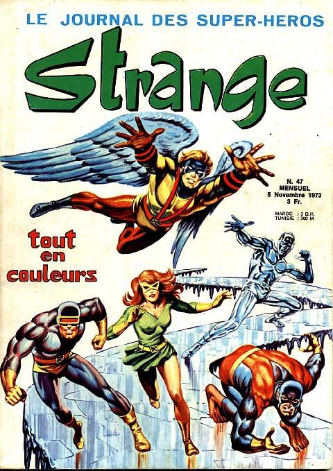 Strange 47 (1973), cover par: Jean Frisano