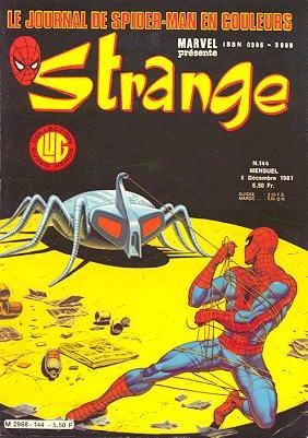 Strange 144 (1981), cover par: Jean Frisano