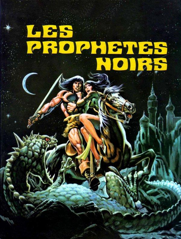 Conan le Barbare: Les Prophètes noirs (1978), cover par: Jean Frisano