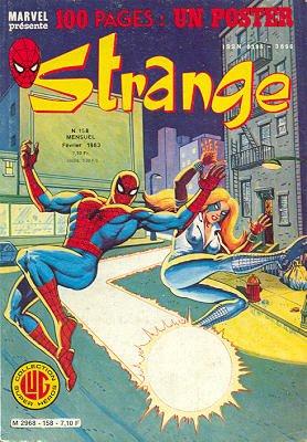 Strange 158 (1983), cover par: Jean Frisano