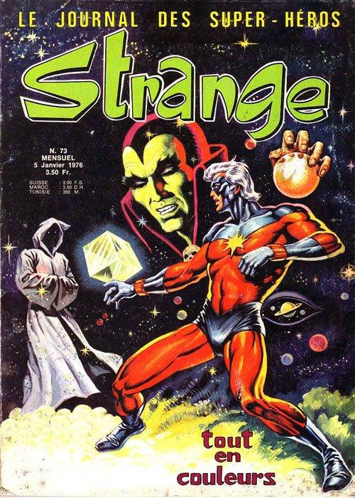 Strange 73 (1976), cover par: Jean Frisano