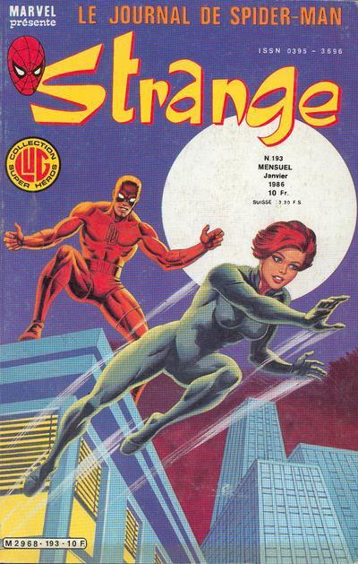Strange 193 (186), cover par: Jean Frisano