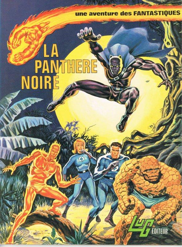 La Panthère Noire (1986), cover par: Jean Frisano