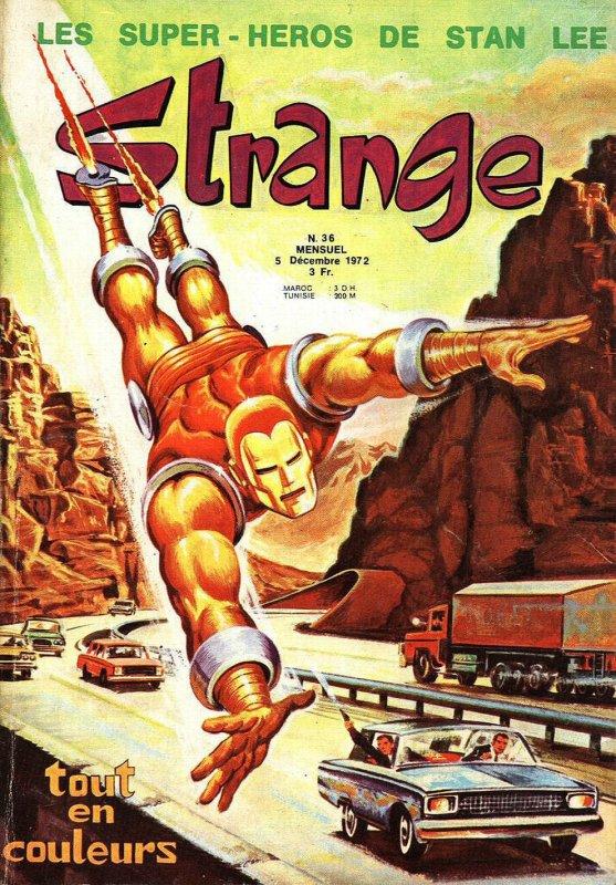 Strange 36 (1972), cover par: Jean Frisano