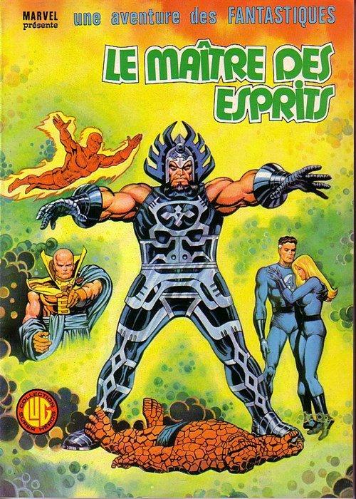 Le Maître des Esprits (1979), cover par: Jean Frisano