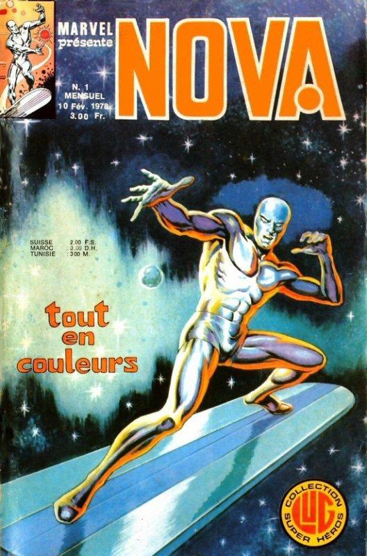 Nova 1 (1978), cover par: Jean Frisano