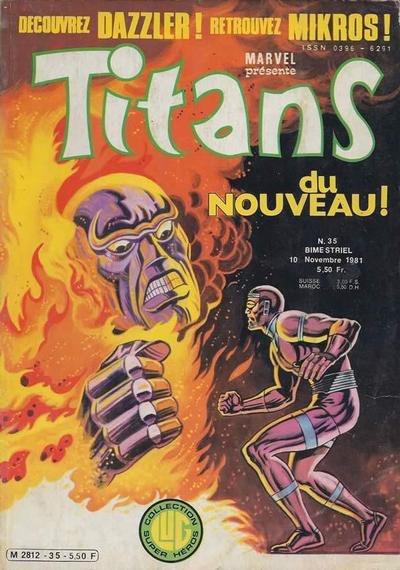 Titans 35 (1981), cover par: Jean Frisano