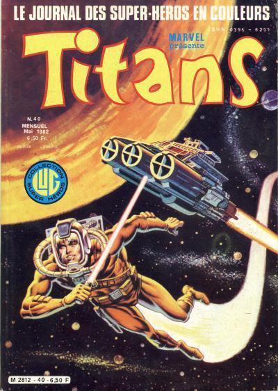 Titans 40 (1982), cover par: Jean Frisano