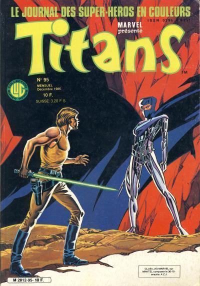 Titans 95 (1986), cover par: Jean Frisano