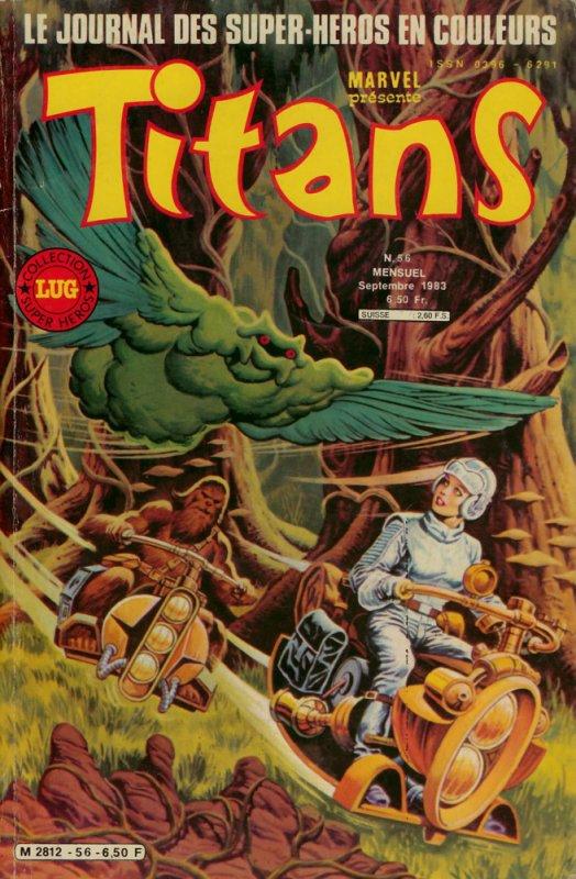 Titans 56 (1983), cover par: Jean Frisano