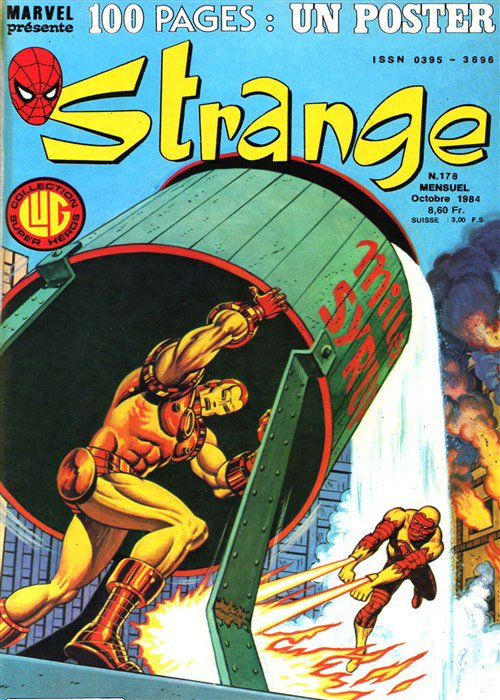 Stange 178 (1984), cover par: Jean Frisano