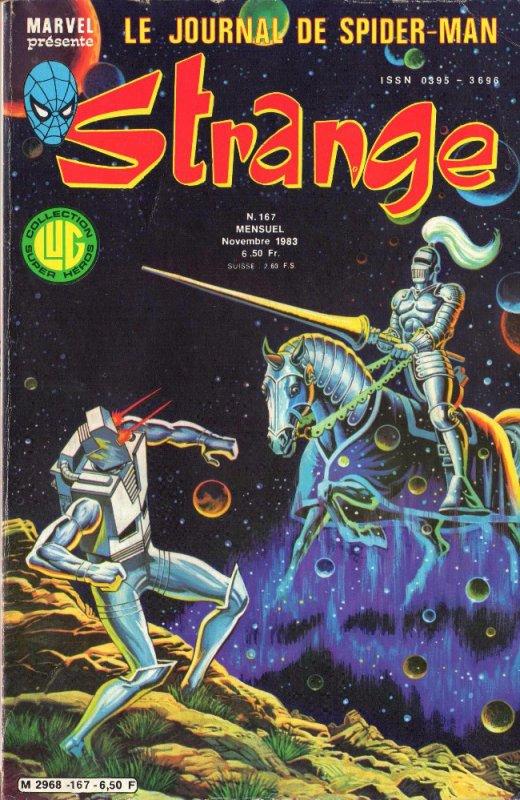 Strange 167 (1983), cover par: Jean Frisano