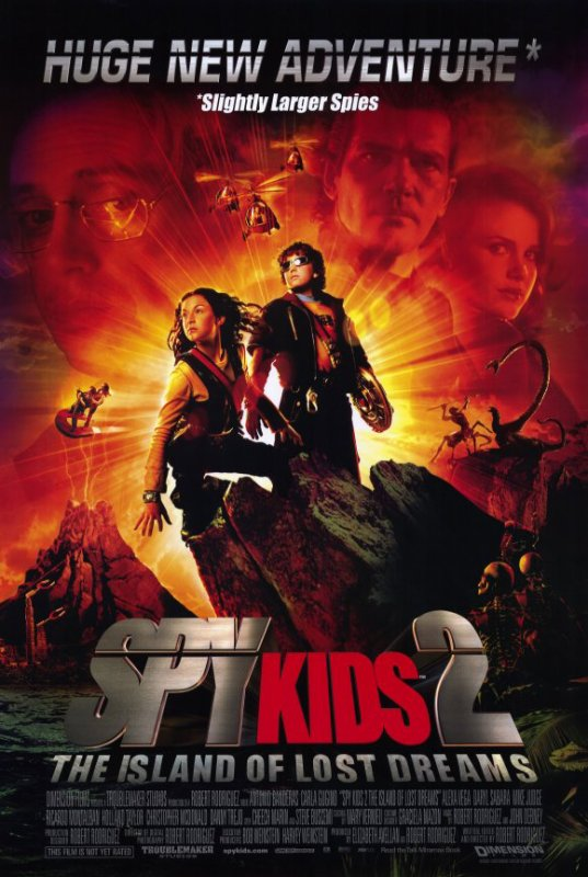 Spy Kids 2: Espions en Herbe (2002), aka Spy Kids 2: The Island of lost Dreams