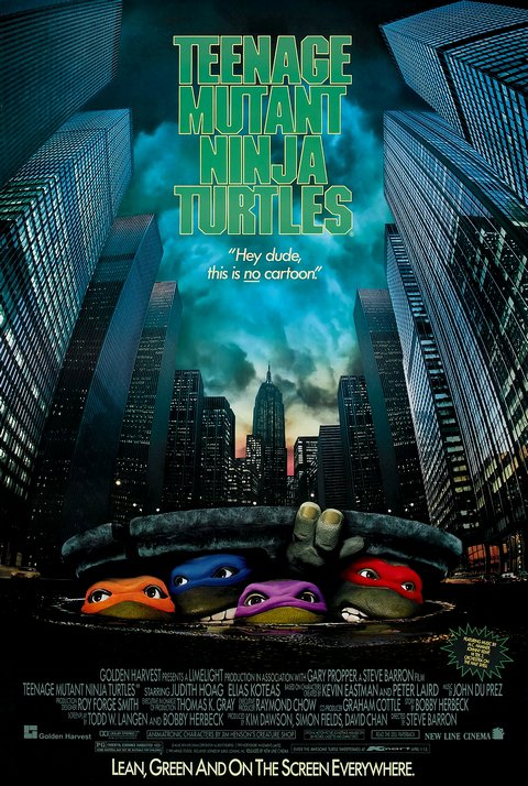 Teenage Mutant Ninja Turtles (1990), aka Les Tortues Ninja