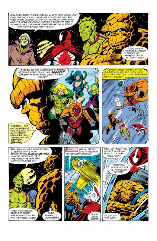 Marvel Two in One 64-66 (1980), dessins par: George Perez et Gene Day