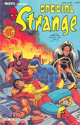 Spécial Strange 42 (1985), cover par: Jean Frisano