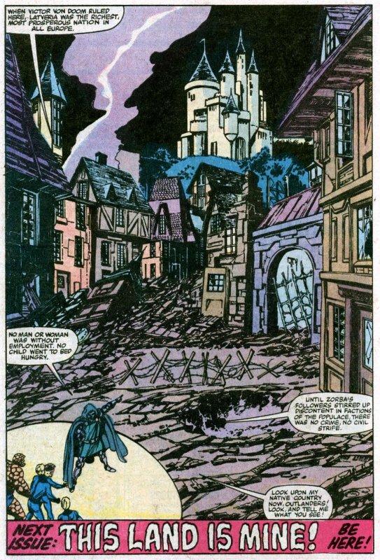 Fantastic Four 246-247 (1982), scenario et dessins par: John Byrne