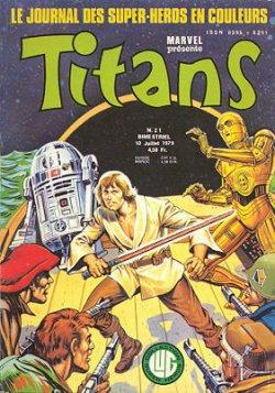 Titans 21 (1979), cover par: Jean Frisano