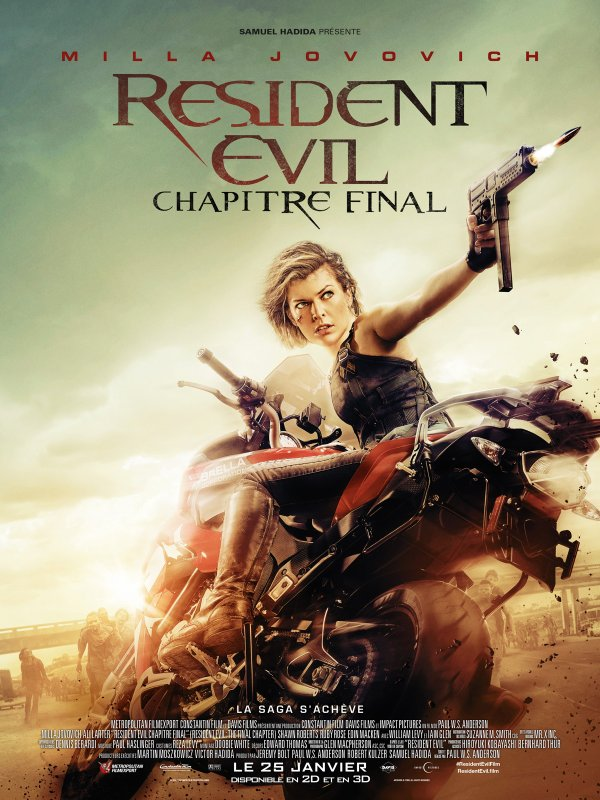 Resident Evil: Chapitre Final (2017)