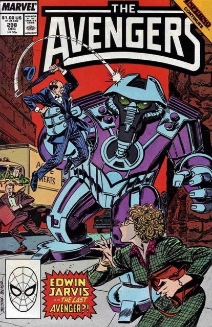 The Avengers 298 (1988), dessin par: John Buscema