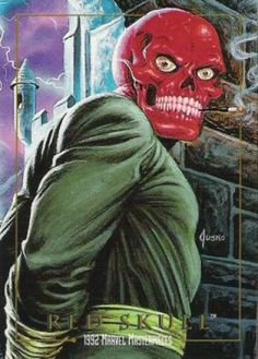 Red Skull (1992), peint par: Joe Jusko