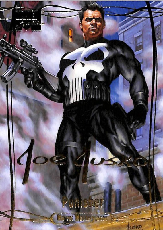 The Punisher (1992), peint par: Joe Jusko