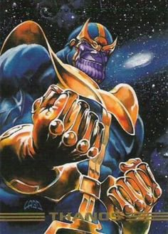 Thanos (1993), peint par: Joe Jusko