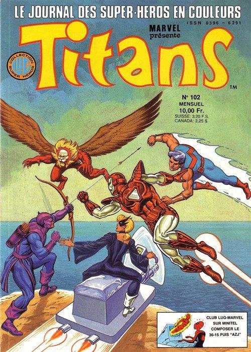 Titans 102 (1987), cover par: Jean Frisano