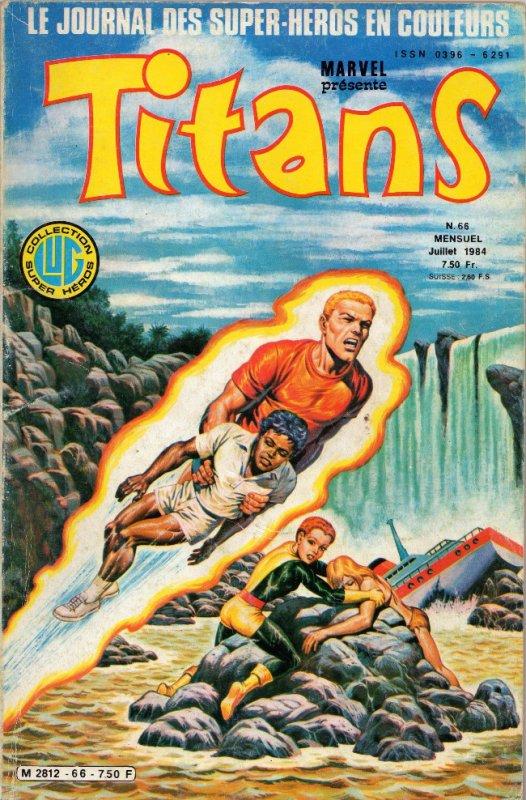Titans 66 (1984), cover par: Jean Frisano