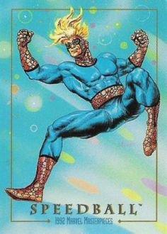 Speedball (1992), peint par: Joe Jusko