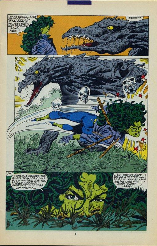 The Sensational She-Hulk 34 et 35 (1992), dessins par: John Byrne