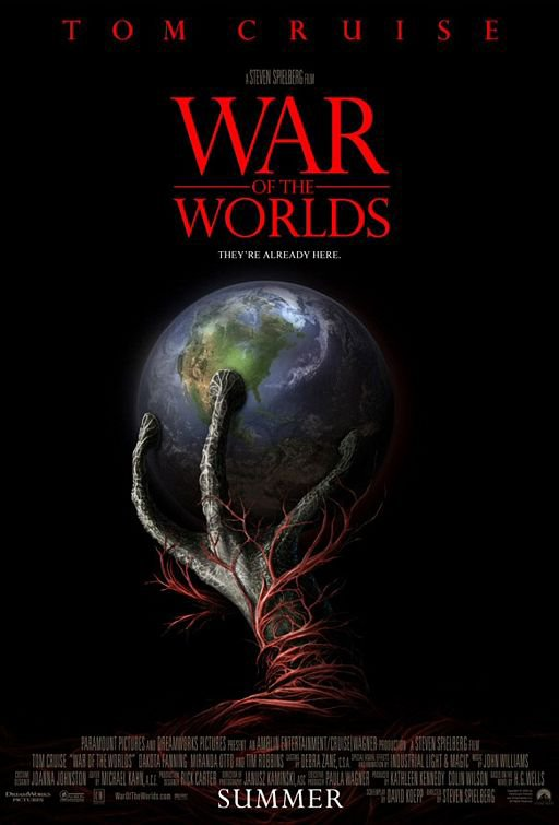 War of the Worlds (2005), aka La Guerre des Mondes