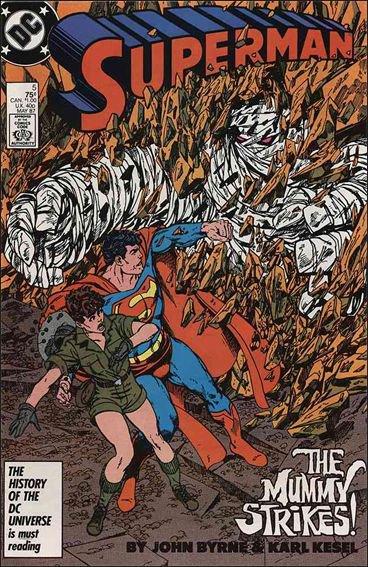 Superman 5 (1987), dessins par: John Byrne
