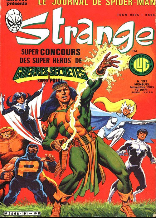 Strange 191 (1985), cover par: Jean Frisano