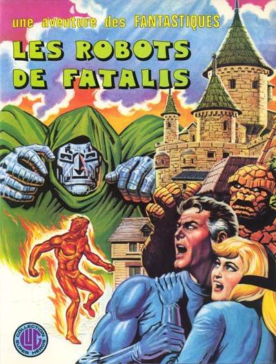 Les robots de Fatalis (1976), cover par: Jean Frisano