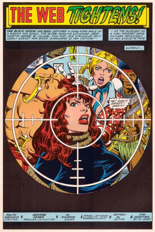 Marvel Fanfare 10-13: Black Widow (1984)