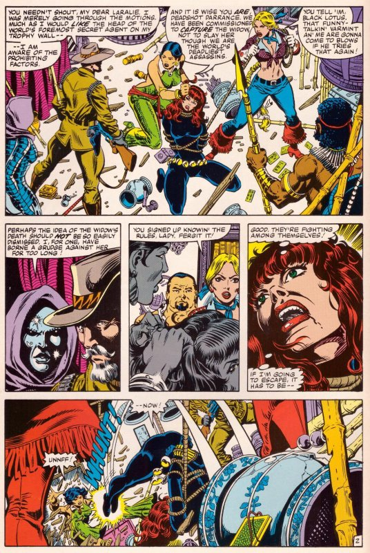 Marvel Fanfare 10-13: Black Widow (1984)