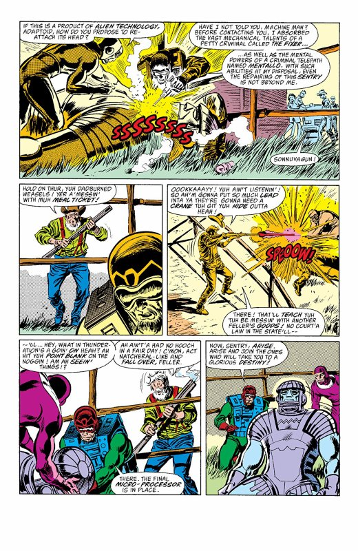 The Avenger 287 à 289 (1988), dessins de John Buscema