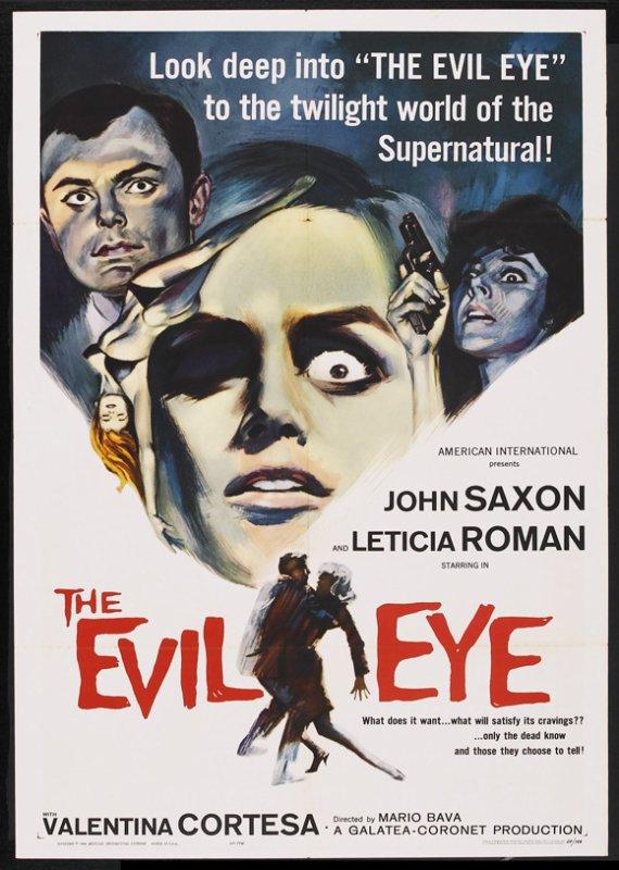 the Evil Eye (1963), aka la Fille qui en savait Trop