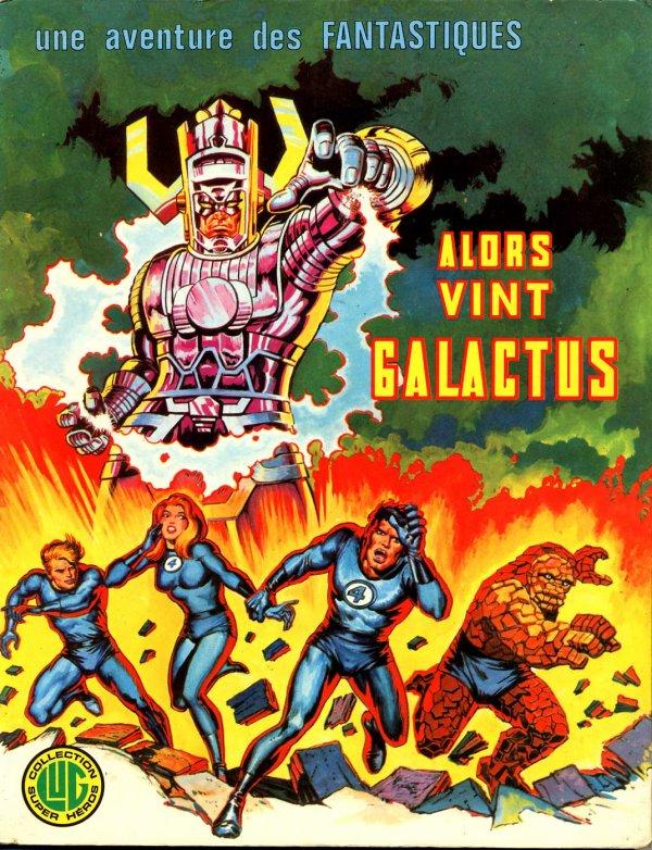 Alors vint Galactus (1975), cover par: Jean Frisano