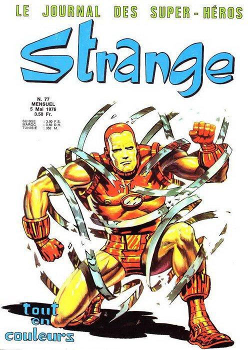 Strange 77 (1976), cover par: Jean Frisano