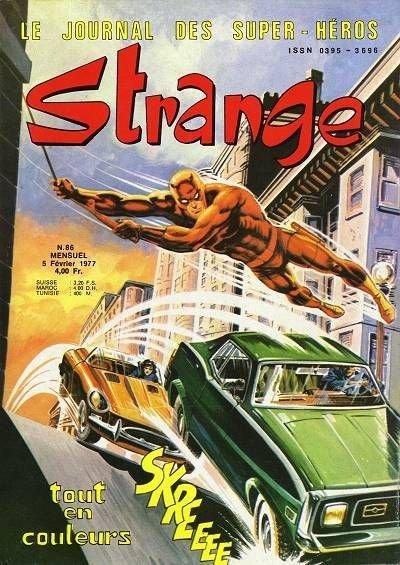Strange 86 (1977), cover par: Jean Frisano