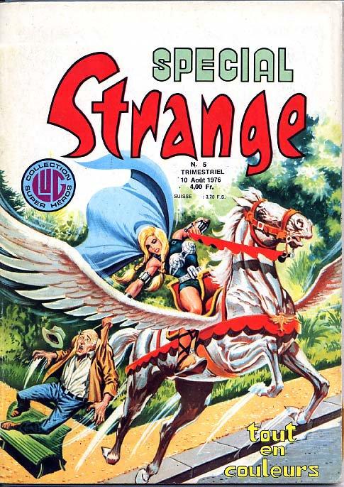 Spécial Strange 5 (1976), cover par Jean Frisano