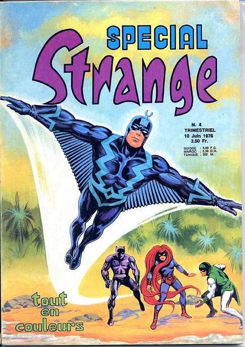 Spécial Strange 4 (1976), cover par: Jean Frisano
